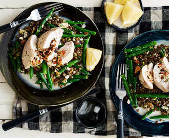 Stuffed Chicken Breast with Chilli and Feta