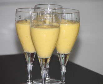 mango coconut milk cream