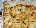 Simple & Amazing Potatoes au Gratin Recipe with Yams & Sweet Potatoes