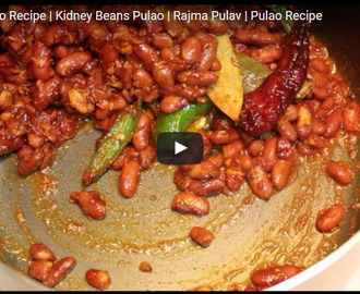 Rajma Pulao Recipe Video