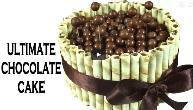 Ultimate Chocolate cake Recipe Video