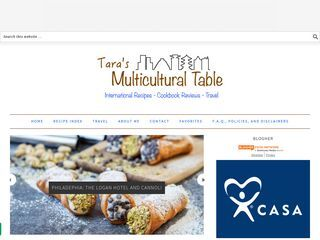Taras multi cultural table