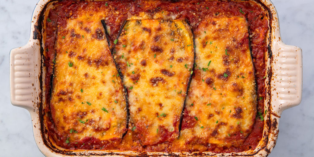 Easy Eggplant Lasagna - How to Make Vegetarian Eggplant Lasagna