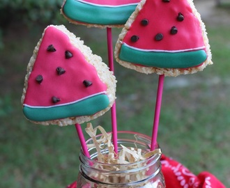 Watermelon Treats / #SundaySupper