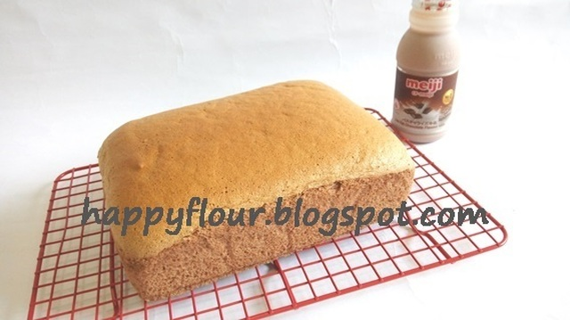 Chocolate Cotton Sponge Cake