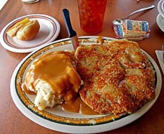 One of America's Favorites - Chicken Fried Steak and Mashed Potatoes