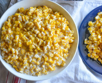 Slow Cooker Homemade Cream Style Corn