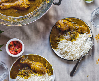 Mauritian Chicken Turmeric Curry – Poulet Safran