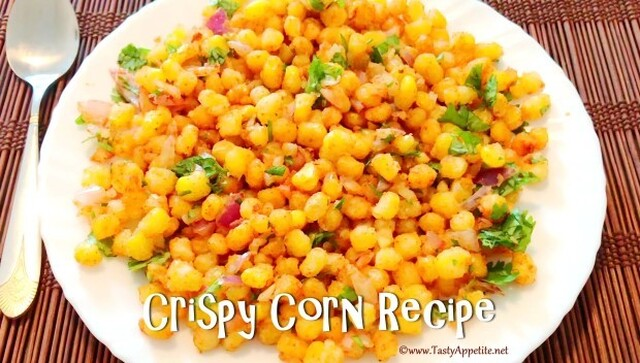 Crispy Corn Recipe | Restaurant Style Crispy Corn - Easy Video Recipe
