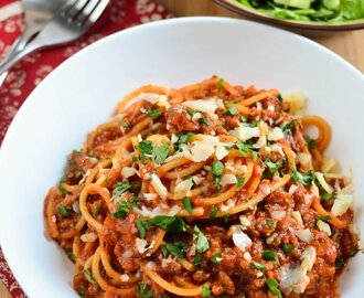 Low Syn Best Ever Spaghetti Bolognese