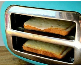 Grilled cheese fail (testing Pinterest).
