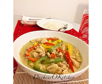 Thai Green Curry 2:0 (with pictures and instruction)