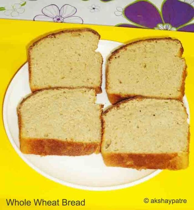 Whole wheat honey bread recipe
