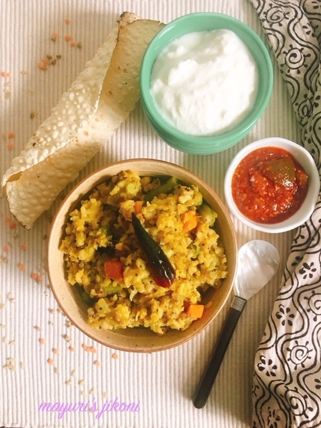 725. Buckwheat and Brown Rice Khichdi