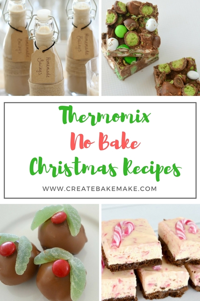 Thermomix No Bake Christmas Recipes