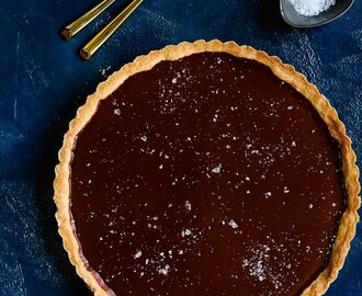 Easy Eggless Chocolate Tart