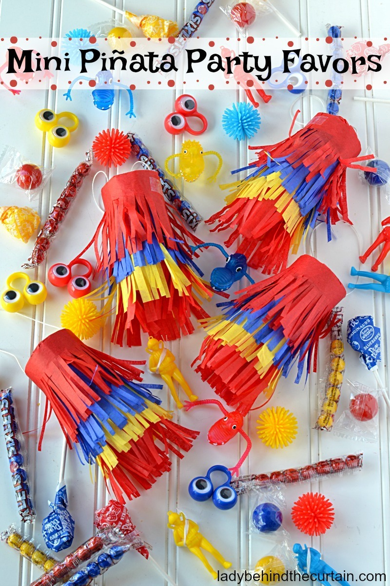 Mini Piñata Party Favors