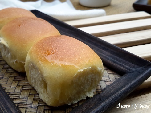 登嘉楼传统面包 ~鲜酵母版(Roti Paung KulaTerengganu ~ Fresh Yeast)