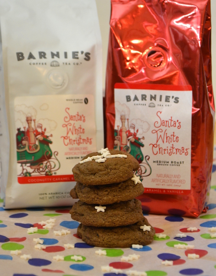 Santa's White Christmas® & Chocolate Chip Mint Cookies