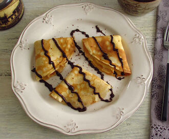 Crepes with chocolate | Food From Portugal