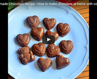 Homemade Chocolate Recipe Video