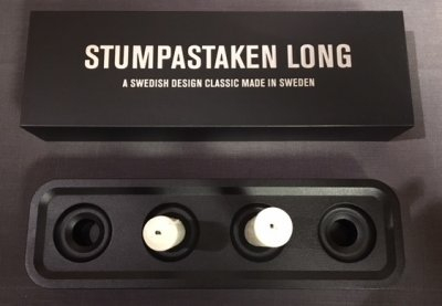 Born in Sweden Stumpastake Long Svart