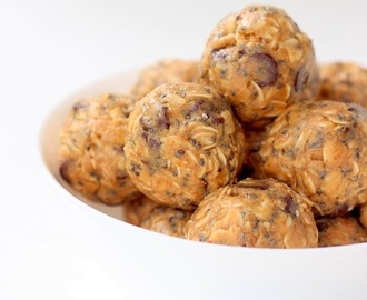 Oats Peanut butter energy balls