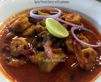 PRAWN CURRY WITH POTATOES