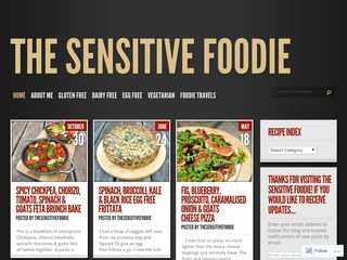 The Sensitive Foodie