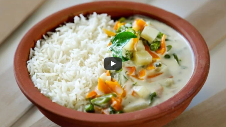 Vegetable Stew Kerala Style Recipe Video