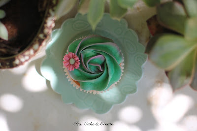 Antique Green Buttercream
