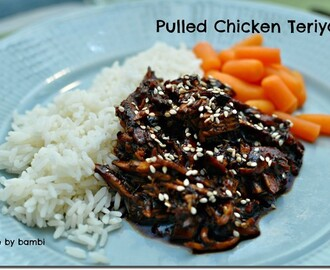 Pulled Chicken Teriyaki