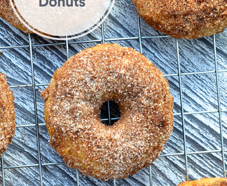 Spiced Apple Cider Donuts Recipe
