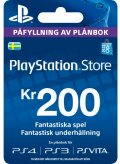 PlayStation Network Voucher 200 SEK
