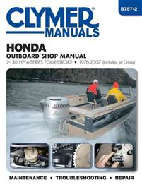 Clymer Manuals Honda Outboard Shop Manual