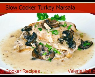 Slow Cooker Turkey Breast with Marsala and Apples