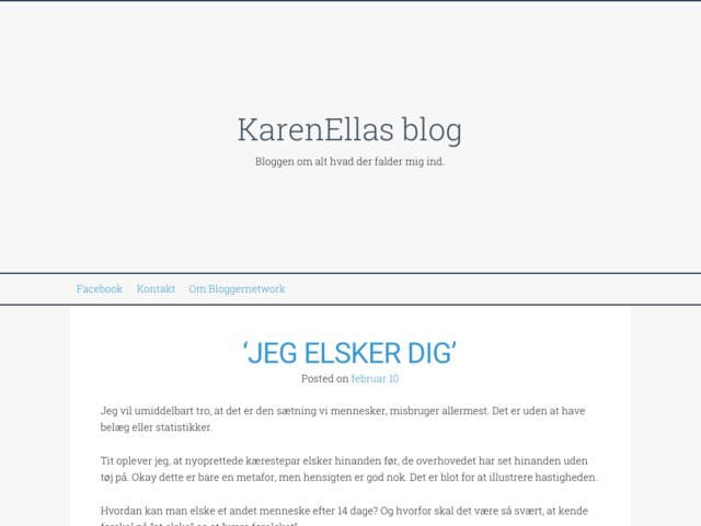 KarenEllas blog
