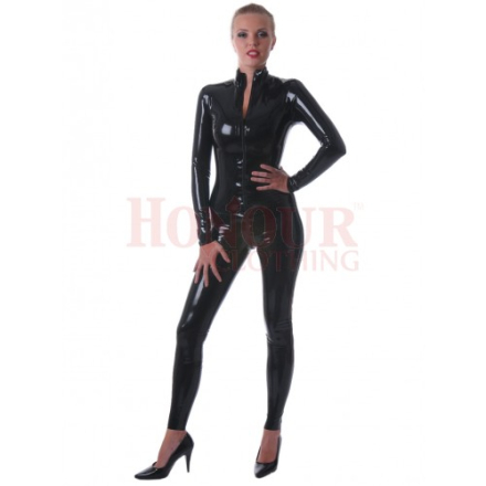 Catsuit i latex