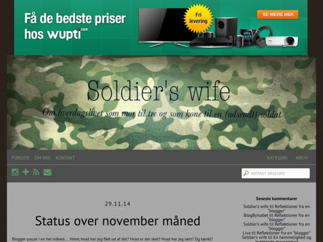 Soldierswife blog