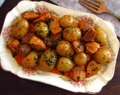 Carne de porco frita com batatas | Food From Portugal
