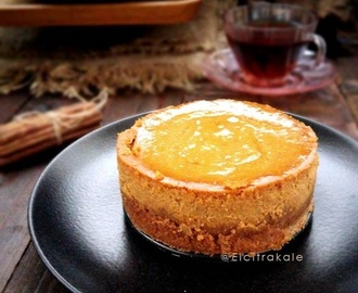 Mini Pumpkin CheeseCake / Cheesecake labu kuning