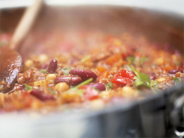 Jamie Olivers chili con carne
