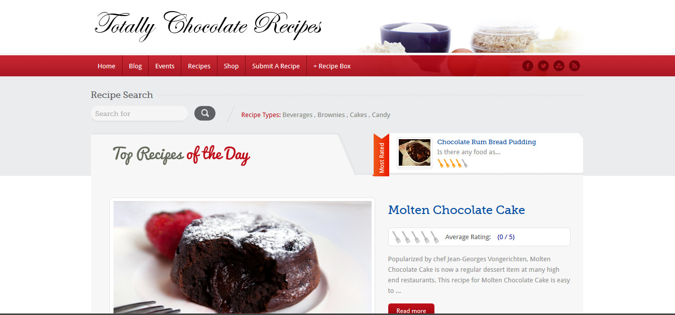 Totally Chocolate Recipes
