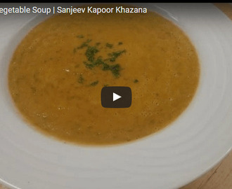 Lentil And Vegetable Soup Recipe Video