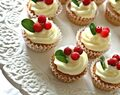 Mini, mini cupcakes med pepparkaksmak • Heavenly Cupcake
