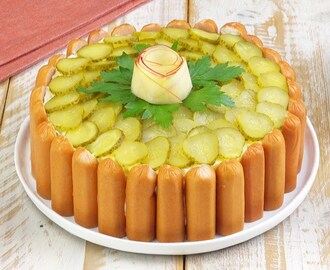 Celebrate German style with this Potato Salad Cake - YouTube