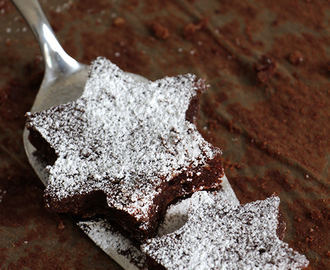 Super saftig: Lebkuchen-Brownies