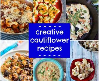 Creative cauliflower recipes