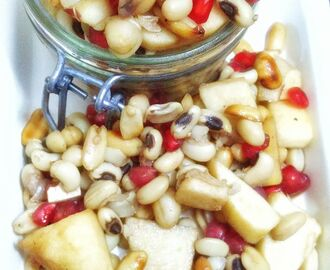 Healthy Lobia / Black Eyed Peas Salad