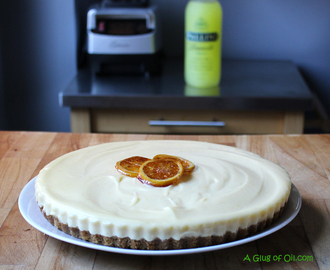 No Bake Limoncello Cheesecake